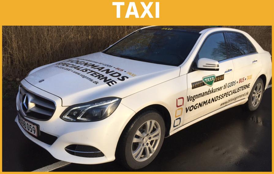 min første gang kbh taxi job